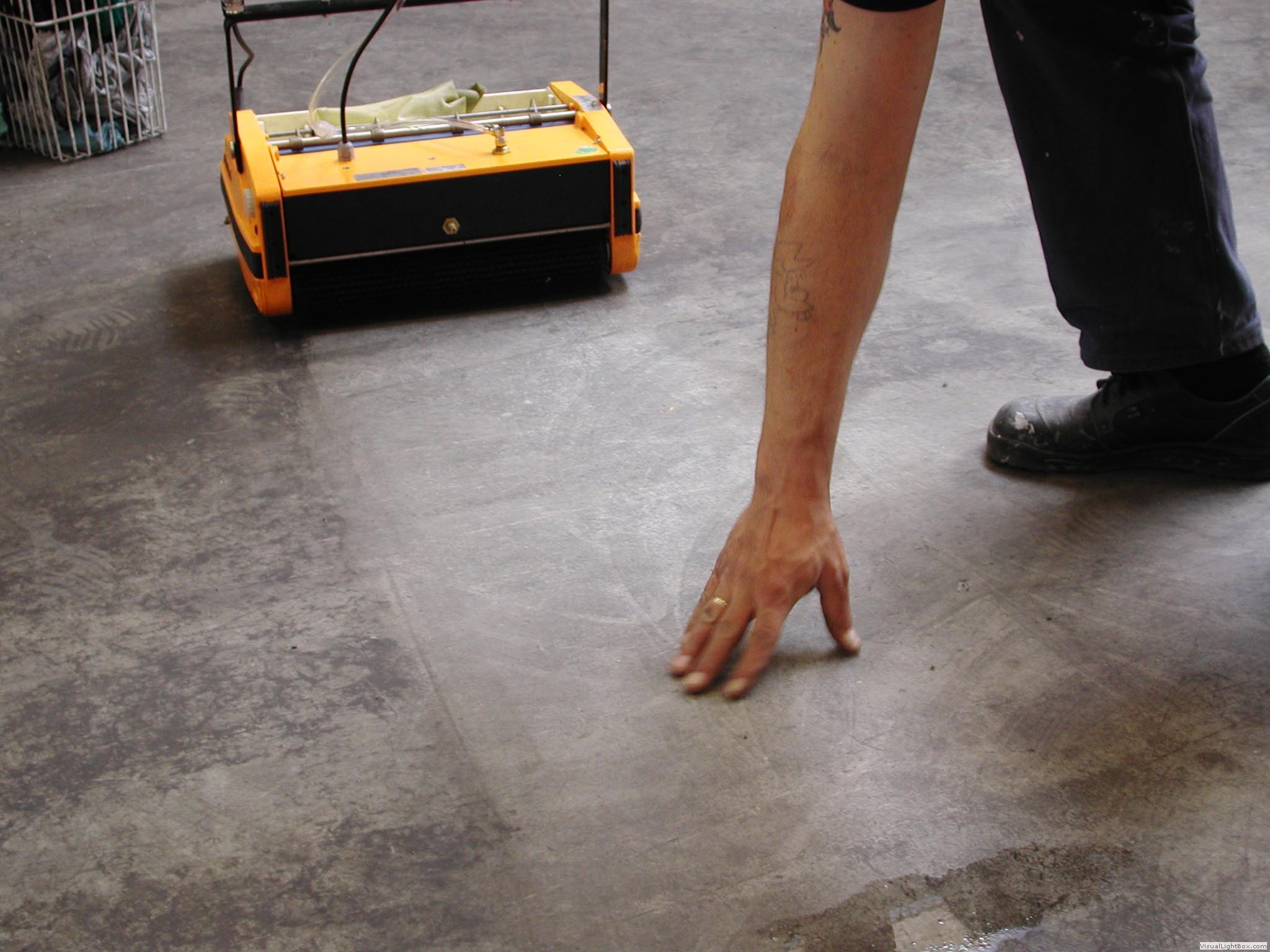 Rotowash floor cleaners for How to clean cement floors in house